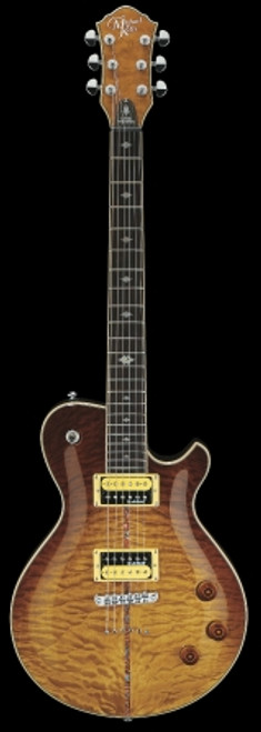Michael Kelly Patriot Instinct Bold Electric Guitar, Scorched
