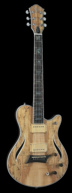 Michael Kelly Hybrid Special Electric Guitar, Spalted Maple