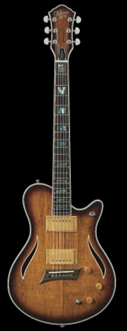 Michael Kelly Hybrid Special Electic Guitar, Spalted Burst