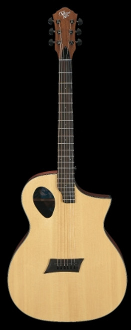 Michael Kelly Forte Port Acoustic/Electric Guitar, Natural