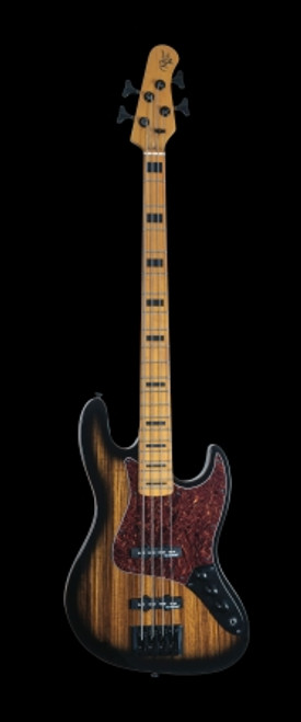 Michael Kelly Vintage Element 4 Bass, Zebra Burst