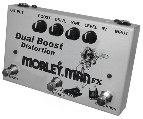 Morley Dual Boost Distortion Pedal