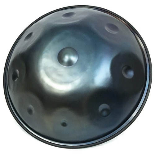 Isthmus Instruments C# Mystic Handpan Nitrided Steel8-No Te Instrument With Case