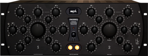 PASSEQ Passive Mastering Equalizer All Black