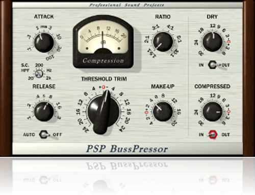 PSP BussPressor Classic VCA compression with wide tuning