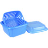 Hutzler Berry Box, blue