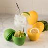 Lemon Saver and Lime Saver with beverage