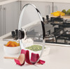 Hutzler Compact Pot Lid Stand with Lid