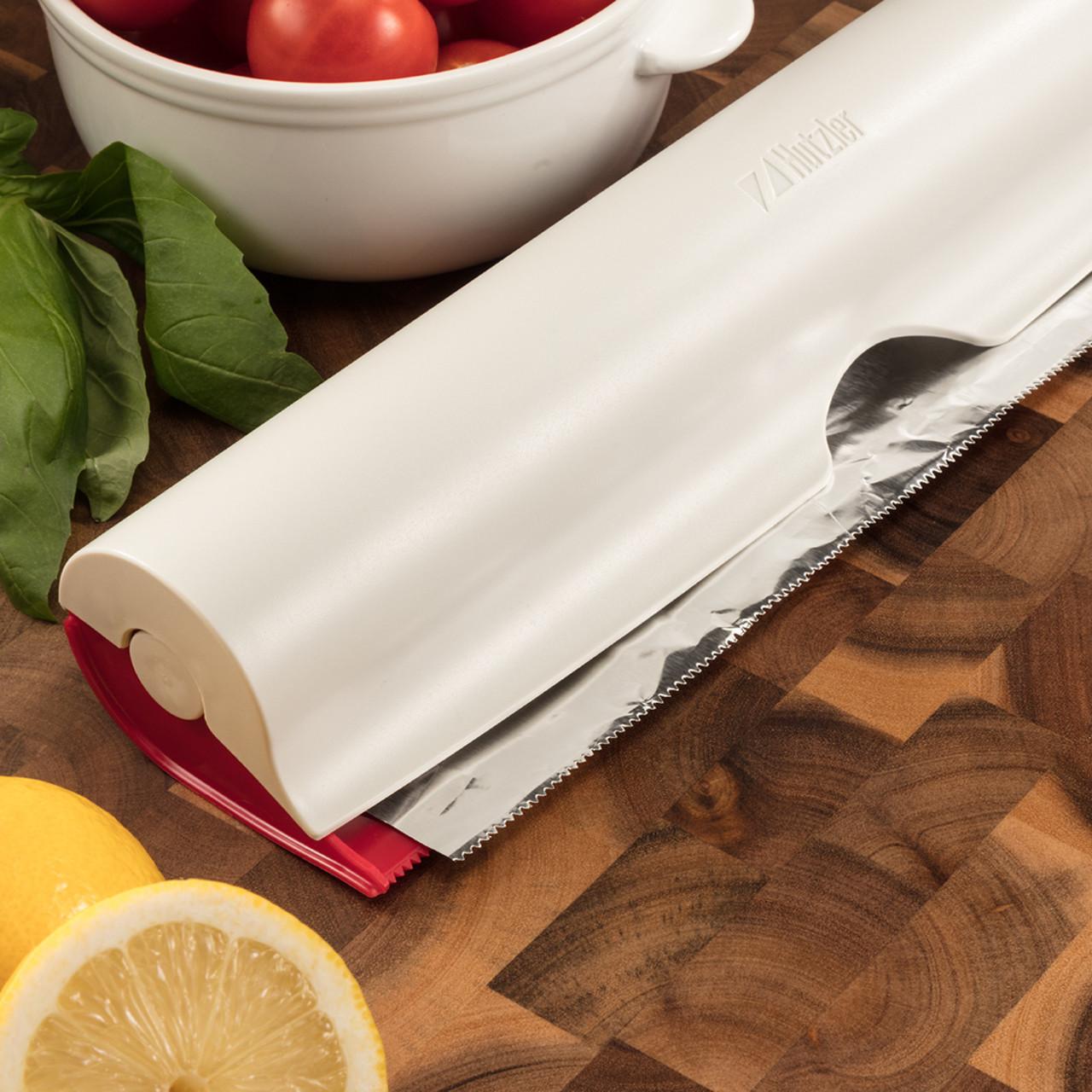 Wrap Dispenser For Aluminum Foil Plastic Wrap Parchment