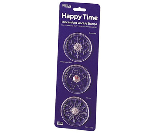Hutzler Happy Time Cookie Stamp Set