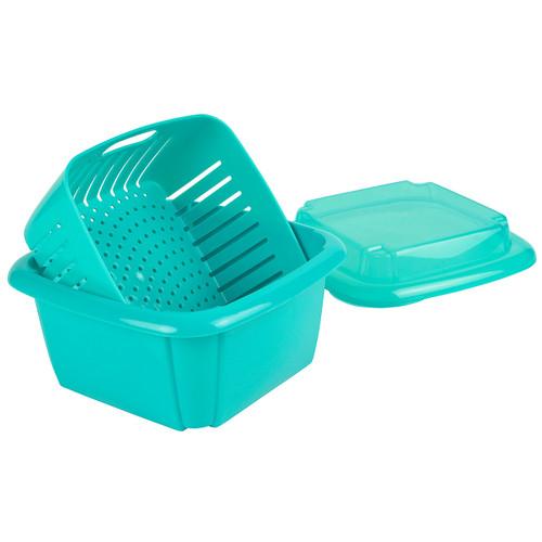 Hutzler Berry Box, turquoise