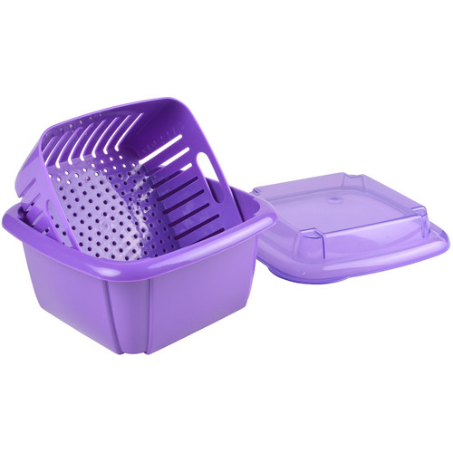 Hutzler Berry Box, purple