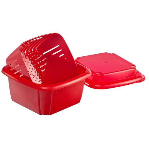 Hutzler Berry Box, red