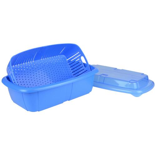 Hutzler Fruit Saver Basket, blue