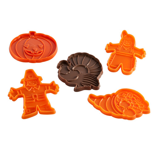 Hutzler Harvest Thanksgiving Cookie Cutter Set