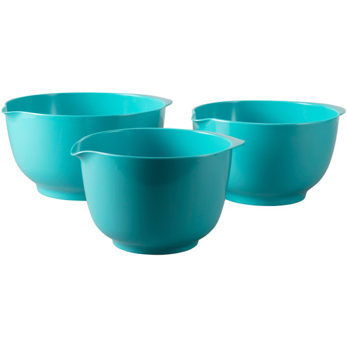Melamine Mixing Bowls Turquoise