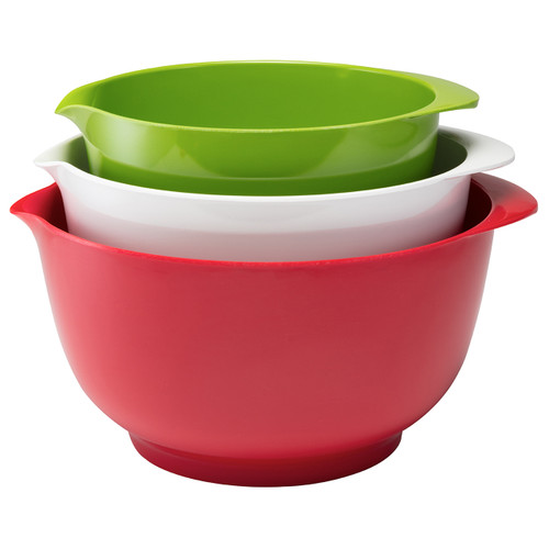 Melamine Mixing Bowls for the Holidays