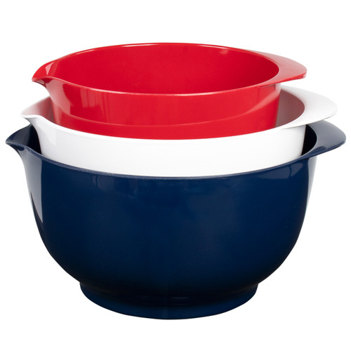 Melamine Mixing Bowls - July 4th