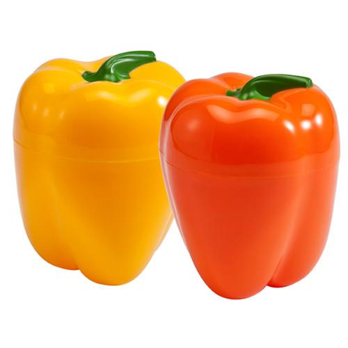 Hutzler Pepper Saver Set, yellow & orange