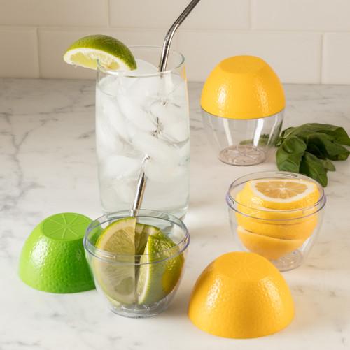Hutzler Lemon Saver with Ice Water