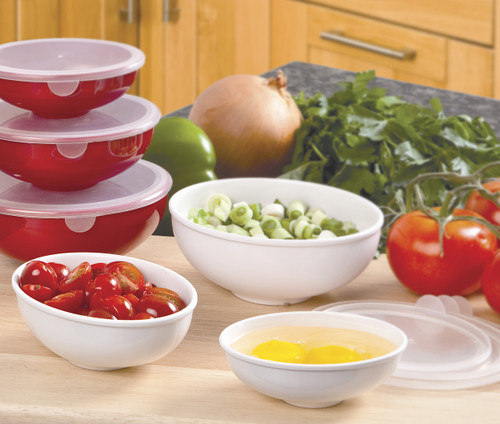 Hutzler Prep Bowls in Use