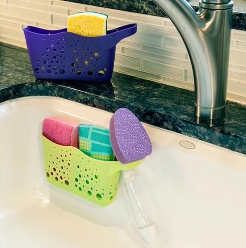 Hutzler Sponge Duo in Sink