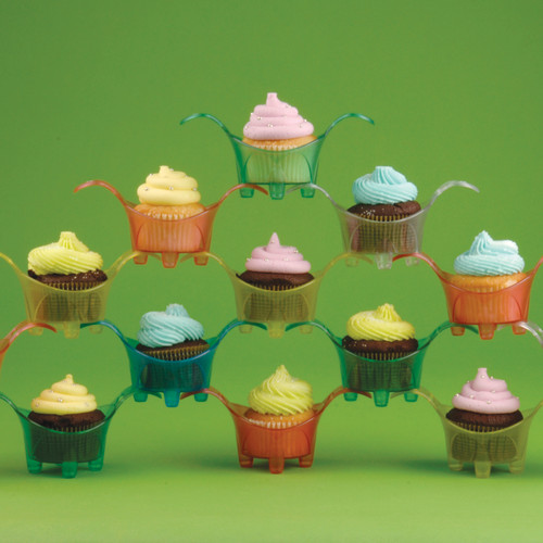 Cupcake Stackers with Cupcakes