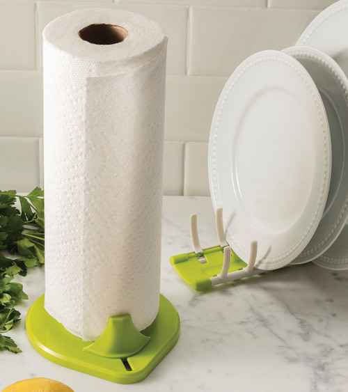Paper Towel Holder and Dish Rack