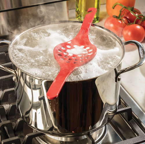 Boil Over Stopper with Pot of Boiling Water