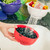 Washing berries in the Berry Bowl colander