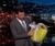 Jimmy Kimmel Easter with Hutzler Garden Colander