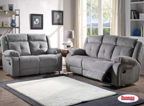 12623 Grey Abi Recliner Living Room