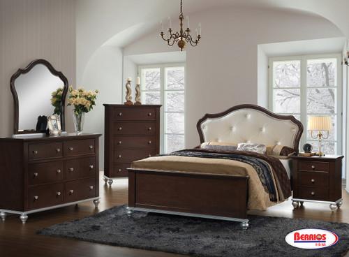 AL300 Cappuccino Silver Bedroom