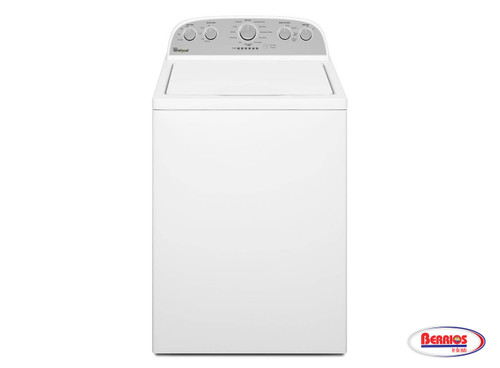 72236 Whirlpool 4.3 Cu. Ft. Cabrio® HE Top Load Washer with Low-Profile White