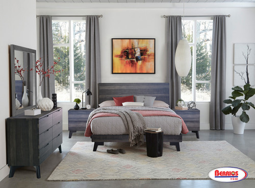 135 Natural Maple Bedroom Collection