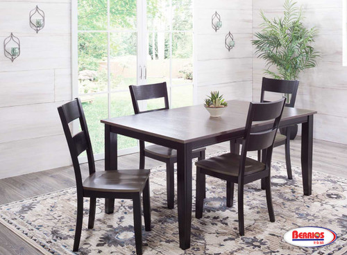 8207 Charcoal Ebony Dining Room