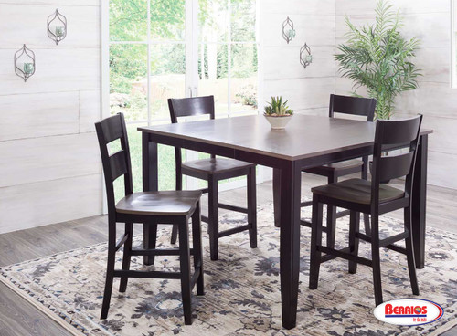 8207 Charcoal Ebony Counter Height  Dining Room