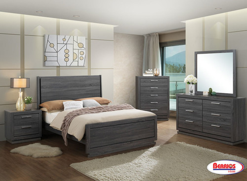 LH132 Black-Grey Bedroom