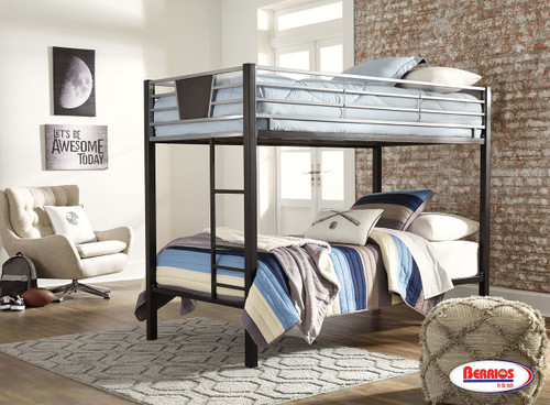 77278 Dinsmore Twin-Twin Bink Bed with Ladder