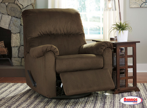 78662 Swivel Glider Recliner Brownwyn Cocoa