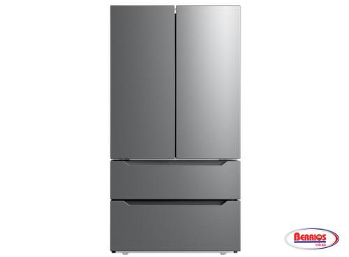 78895 Midea Nevera 22.5' F/Door S/Steel