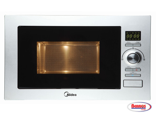 78818 Midea Micro/Grill 0.9' Stainless Steel
