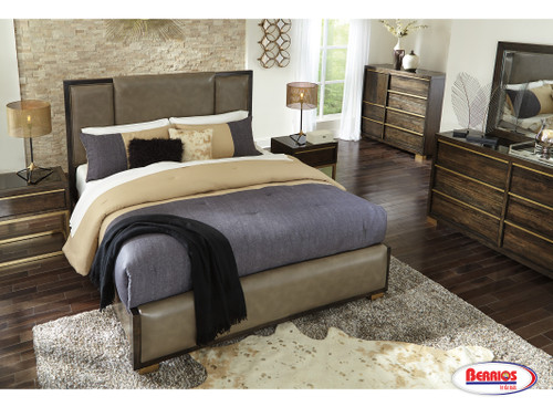 B726 Chaliene Brown Bedroom
