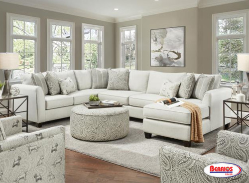 28 Homecoming Stone Sectional Living Room