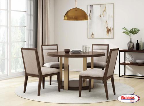 13121 Milan Brown Oak Dining Room