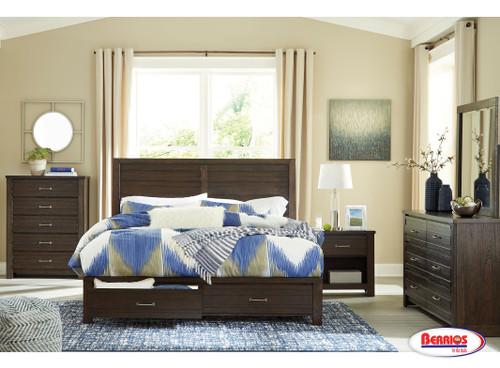 B574 Darbry Brown Bedroom