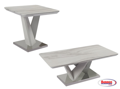 844 Grey  Occasional Tables