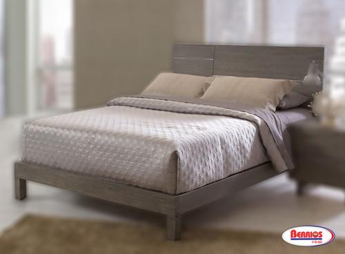 75 Violet Grey Queen Bed