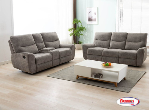 U80033 LIVING ROOM WITH CONSOLE GREY
