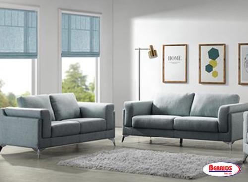 872 Gemini Steel Grey Living Room